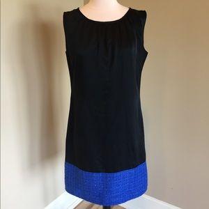 Designer dress black sleeveless Kimberly Noland M